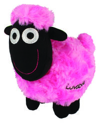 Wacky Woolies Pink Soft Toy Small