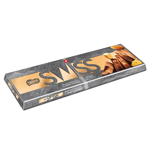 Nestle Swiss Almond & Honey Tablet 300g