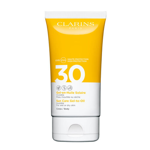 Clarins Body Sun Care Gel-To-Oil Spf30 150ml