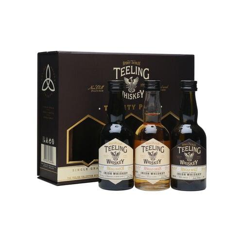 Teeling Whiskey Company Trinity Mini Pack Irish Whiskey  3 x 5cl
