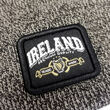 Traditional Craft Adults Black Premium Ireland Badge Knitted Hat  One Size