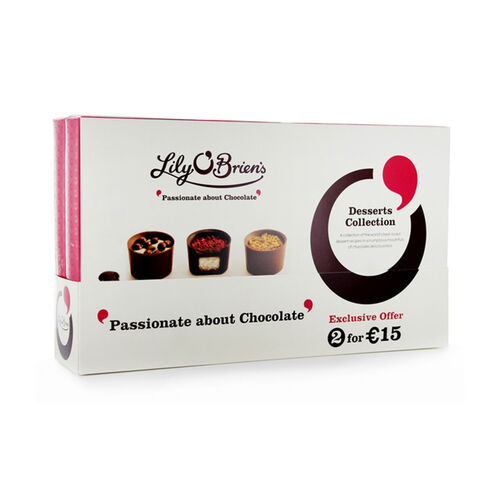 Lily O Briens Dessert Collection Twin Pack
