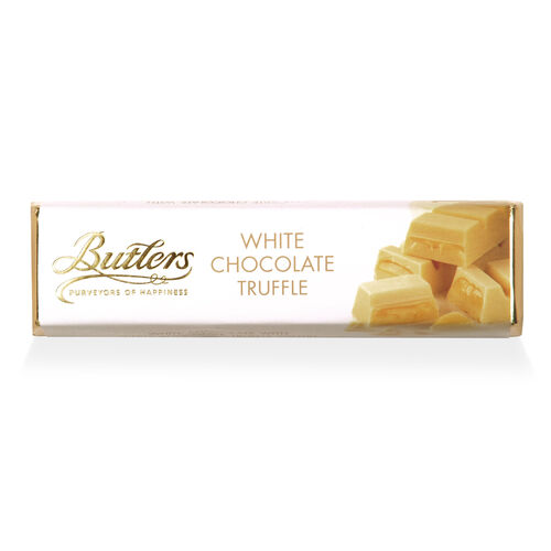 Butlers 75g White Chocolate Truffle Bar