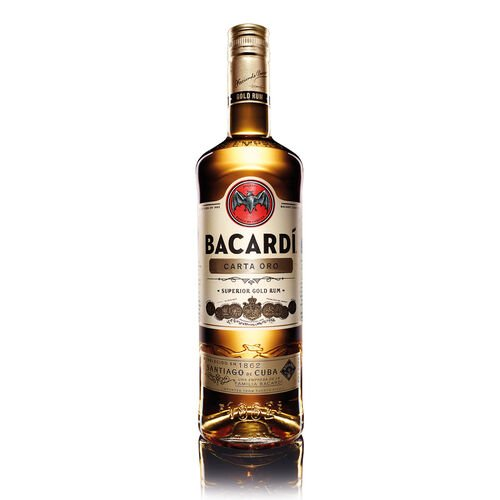Bacardi Carta Oro Golden Rum 1L