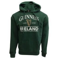 Guinness Guinness Bottle Green Unisex Hoodie With Logo