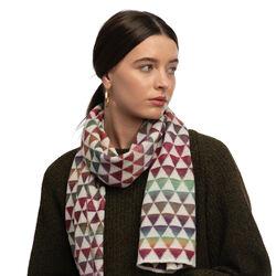 McKernan Prisma Knitted Scarf  0.35m x 1.80m 145g