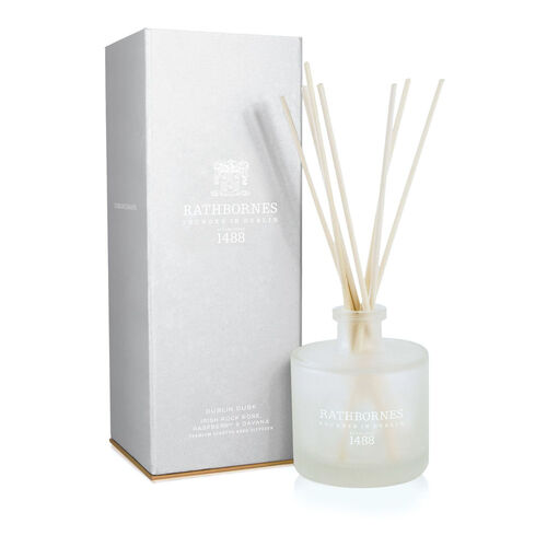 Rathborne  Dublin Dawn Scented Reed Diffuser 200ml Lasts for up to 16 weeks