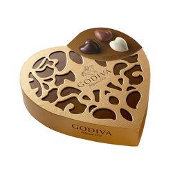 Godiva Coeur Iconique Grand 14 pieces 150g
