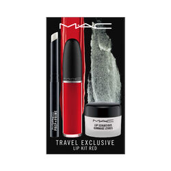 MAC Lip Kit Red Travel Exclusive