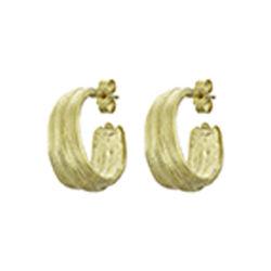 Inner Island Strata Hoops Gold