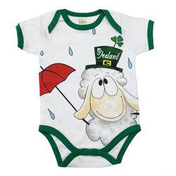 Irish Memories Irish Memories Sheep Ireland Baby Vest  6 to 12
