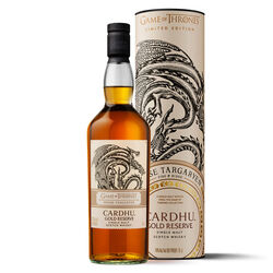 Game of Thrones House Of Targaryen Cardhu Golden Reserve Scotch 70cl