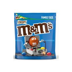 M&M Crispy Maxi Pouch  340g