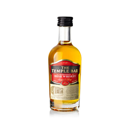 The Temple Bar Blended Irish Whiskey 5cl