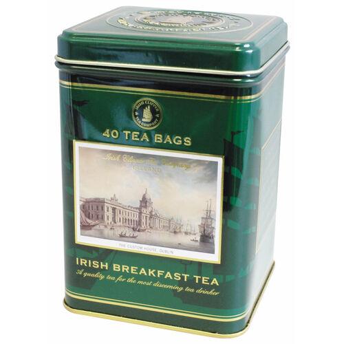 Souvenir Irish Breakfast Tea Tin 40 tea bags