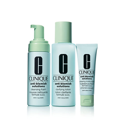 Clinique Anti Blemish  3 Step System Set