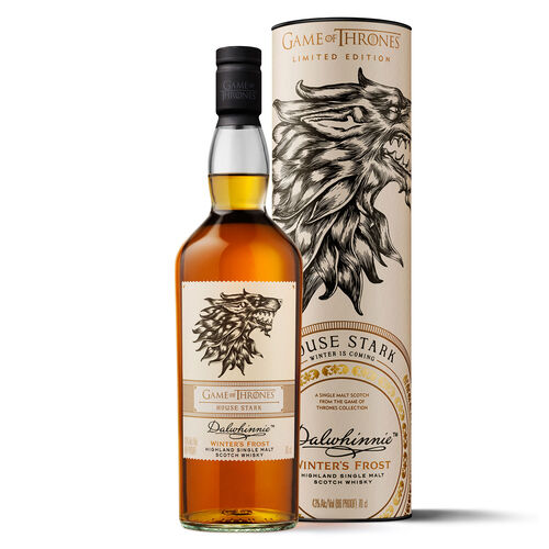 Game of Thrones GOT House Of Stark Dalwhinnie Winter F Scotch  70cl