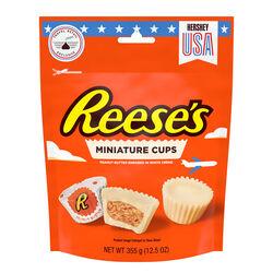 Hersheys Reese's White Miniature Peanut Butter Cups  355g