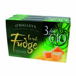 Souvenir O'Malley's Irish Fudge 3 Pack