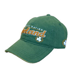 Lansdowne Adults Green Baseball Cap With Gold Embroidery