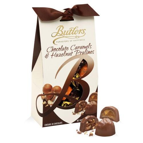 Butlers 300g Milk Chocolate Caramel & Hazelnut Pralines