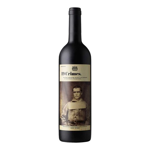 19 Crimes Australian Red Wine 75cl