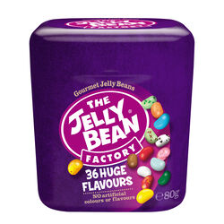 The Jelly Bean Factory 36 Huge Flavours Grab and Go  80g