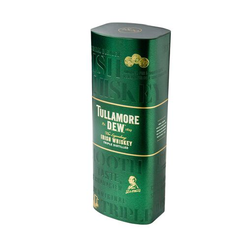 Tullamore D.E.W. Irish Whiskey Tin 70cl
