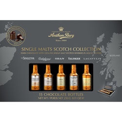 Anthon Berg Chocolate Liqueur Single Malts  230g