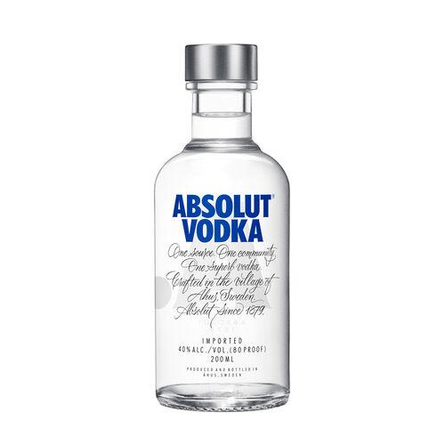 Absolut Vodka Sweden Original 0.20ml