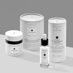 Pestle and Mortar The Hydrating Duo