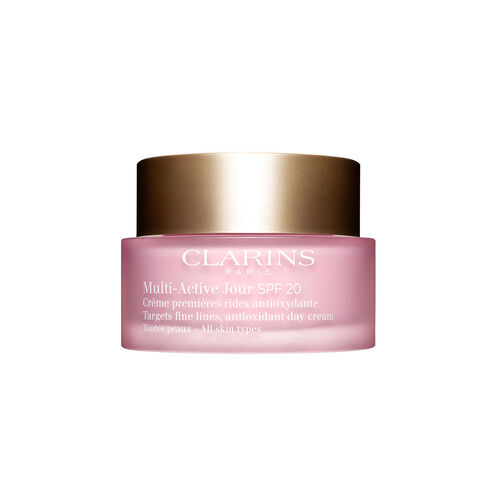 Clarins Multi-Active Day Cream  All skin types Spf 20 New 50ML