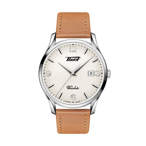 Tissot T1184101627700 Heritage Visodate Quartz Silver 40mm