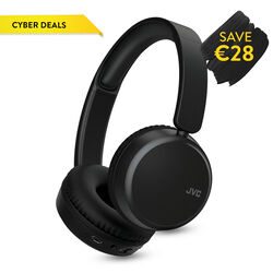 JVC On Ear Bluetooth Noise Cancelling Headphone   Black