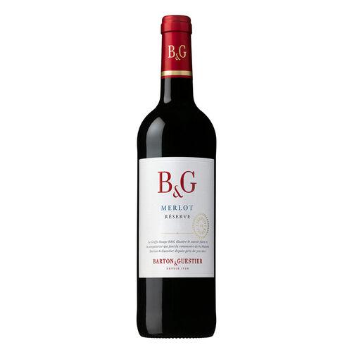 B&G Merlot Reserve Varietals Red Wine 18.7cl
