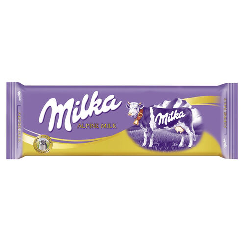 Milka Alpine Milk Chocolate Tablet  270g