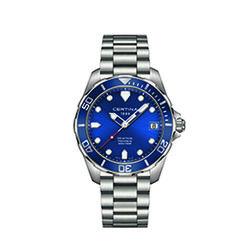 Certina C0324101104100 Ds Action Gent Watch Blue 41mm