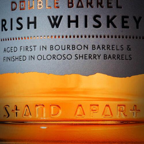 Glendalough Double Barrel Bourbon barrel aged. Sherry Oloroso barrel finished 70CL