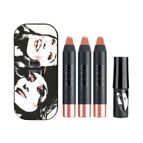 Nudestix Mini Gel Color Lip + Cheek Founders Kit