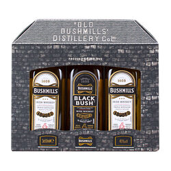 Bushmills Irish Whiskey  3 x 5cl Mini Pack 3x5cl