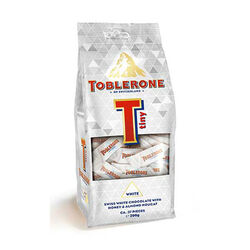 Toblerone Tiny White Chocolate  Mono Bag 272g