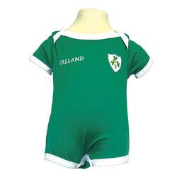 Traditional Craft Kids Lansdowne Green Ireland Baby Vest