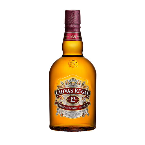 Chivas Scotch Whisky  Scotland 12 Yo Blended 1L Bottle