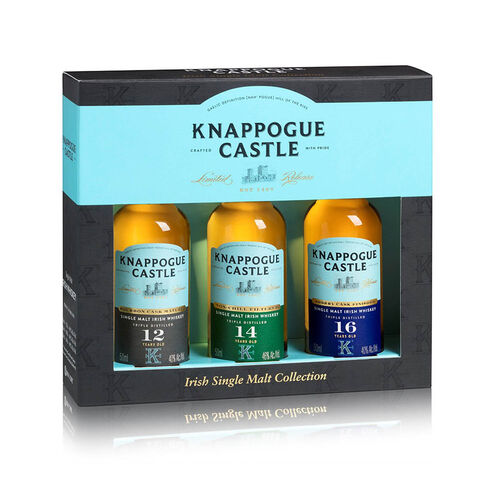 Knappogue Castle Knappogue Castle Mini Gift Set Irish Whiskey  3x5cl
