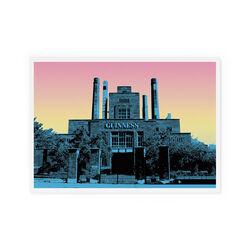 Jando  Landscape Guinness Small Print A4