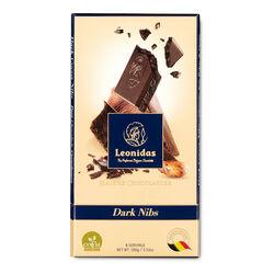 Leonidas Dark Chocolate Nibs Tablet 100g