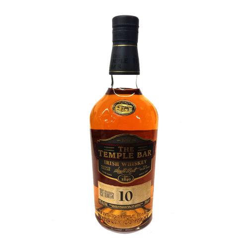 The Temple Bar 10 Year Old Single Malt Irish Whiskey 70cl