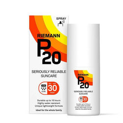 P20 Sun Protection Spray Spf30 Travel Size 40ml