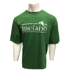 Irish Memories Sage Shamrock T-Shirt
