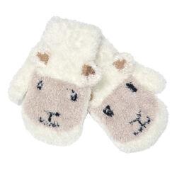 Patrick Francis Cream Baby Sheep Mittens